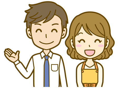 Male and female (couple): A_ Guide 02BS
