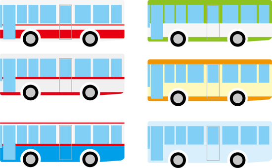 Route bus set