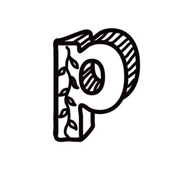 P (lower case)