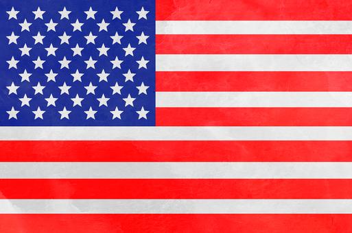 National Flag Watercolor America