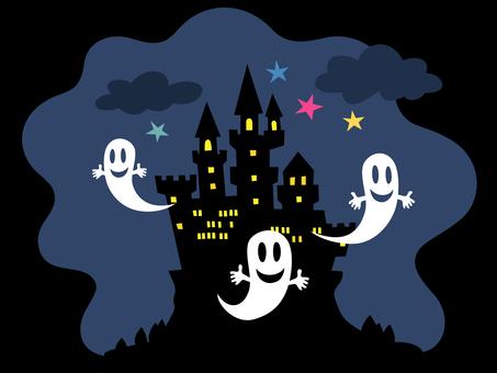 Halloween · castle no Obake