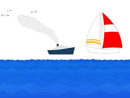Sea material