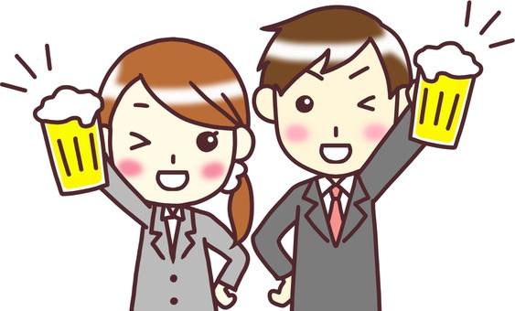 【Gender suit】 Front _ toast