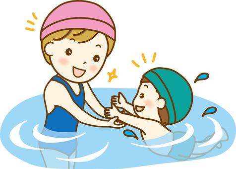Swimming class 03