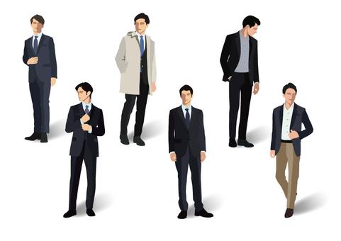 辦公室時尚男裝【1】