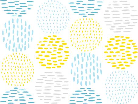 손으로 그린 바람 배경 패턴