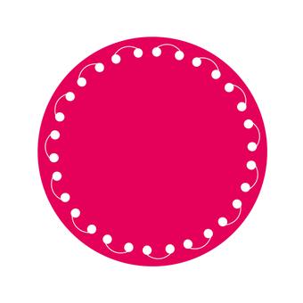 Circular material -144