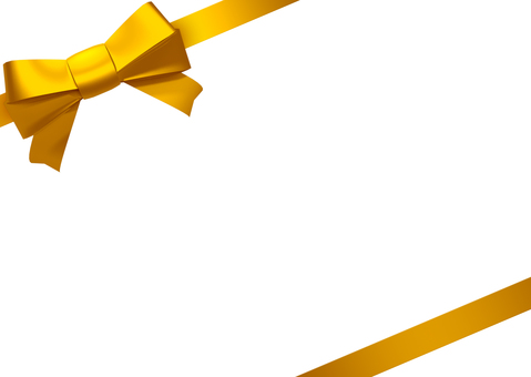 Ribbon_ gold, yellow