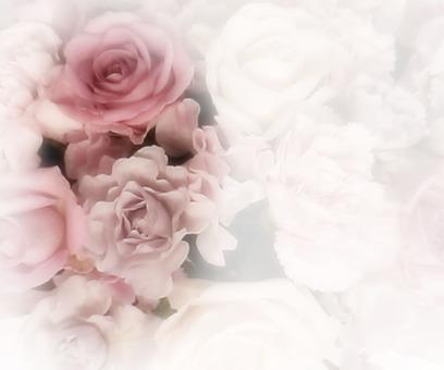 Flower message card 2-A
