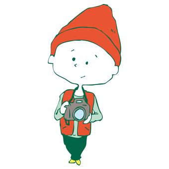 Camera boy