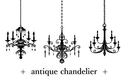 Antique chandelier 01