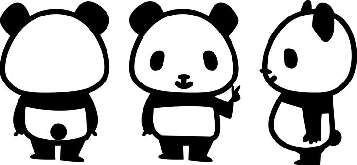Panda 3 view