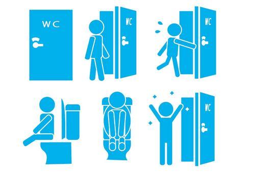 廁所兒童象形圖