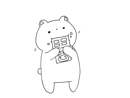Eat chocolate Bear 1 1