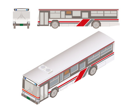 Illustration of a bus