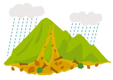 Mudslide (heavy rain)