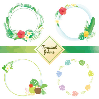 Tropical frame set