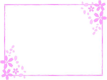 벚꽃 프레임 18-2