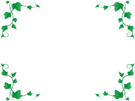 Ivy decorative frame 2