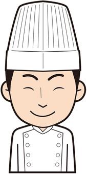Male Chef (Smile)