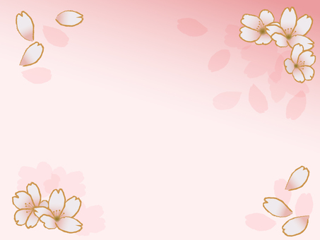 Japanese style cherry background