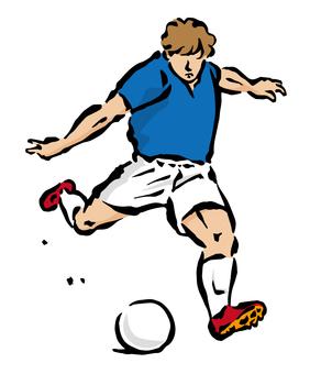 Soccer - Shoot