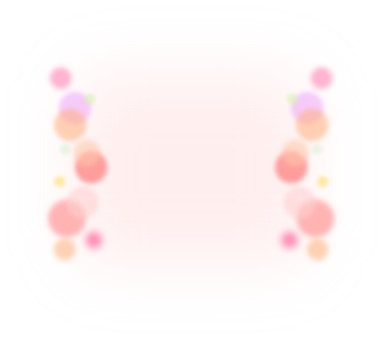 Pink-colored polka dot frame