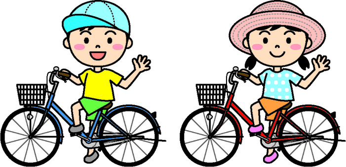Summer child (bicycle color)