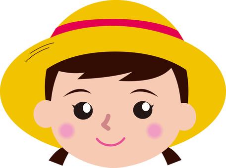 Girls hat