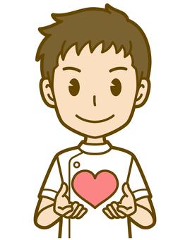 男(護士):A_ Heart 01BS