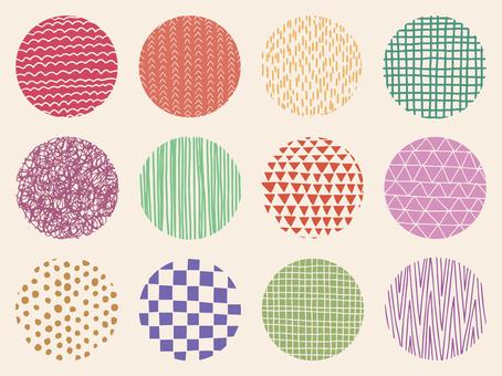 Pattern circle set