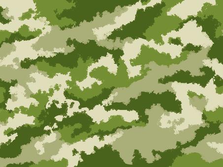 Camouflage pattern (military) Khaki background illustration