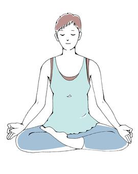 Women who meditate