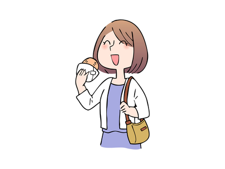 Women who enjoy eating and traveling