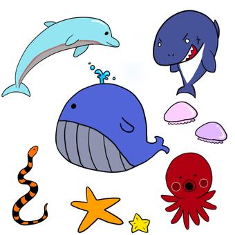 바다 생물 1