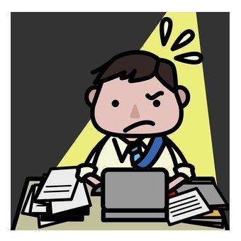 Overtime worker