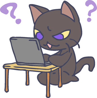 Cats who are not good at PC 2