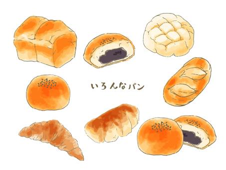 Various bread Vol. 1