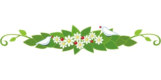 Flower decoration ruling