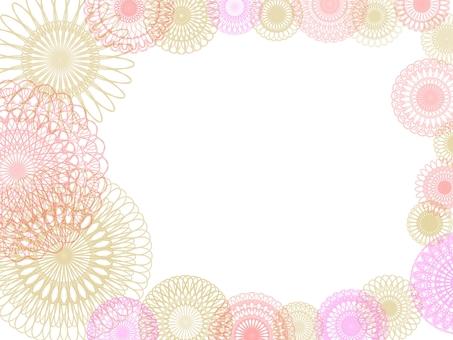 Pattern frame 14