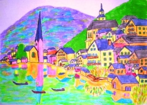 世界上最美麗的奧地利湖畔