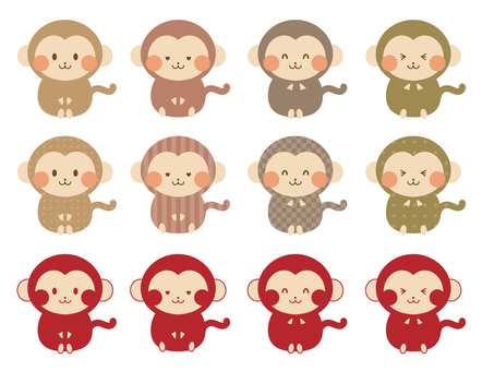 Varieties of the Chinese zodiac