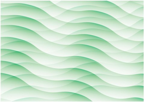 Geometric pattern (green)