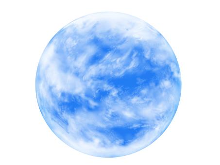 Round sky