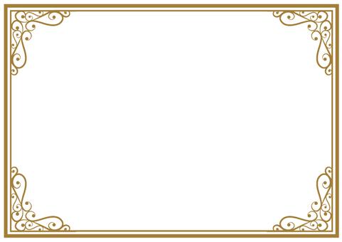 Elegant frame 001