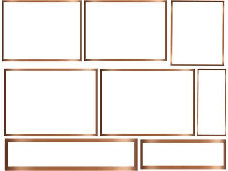 Bronze frame