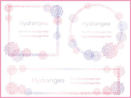 Hydrangea's frame 10