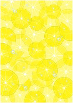 Lemon slice texture