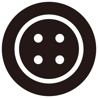 Button black and white