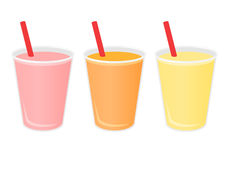 Smoothie 3 colors (warm color system)